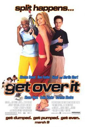 Get Over It (film) - Theatrical release poster