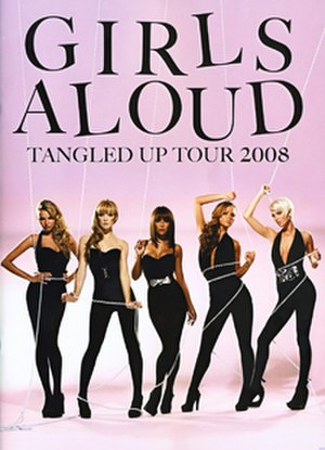 Tangled Up Tour - Cover of tour programme