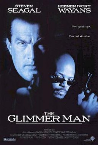 The Glimmer Man - Theatrical release poster
