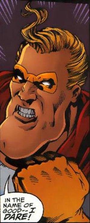 Goldstar (comics) - Image: Goldstar DC Comics