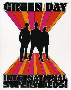 International Superhits! - Image: Green Day International Supervideos! cover