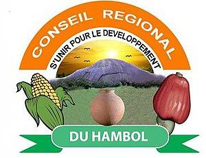 Hambol - Image: Hambol Region (Ivory Coast) logo