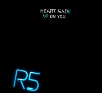 Heart Made Up on You (song) - Image: Heart Made Up On You single