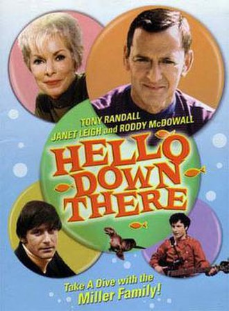 Hello Down There - DVD cover