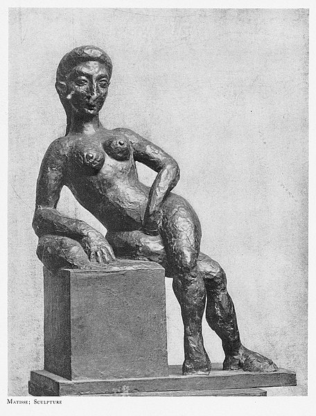 File:Henri Matisse, 1908, Figure décorative, bronze.jpg