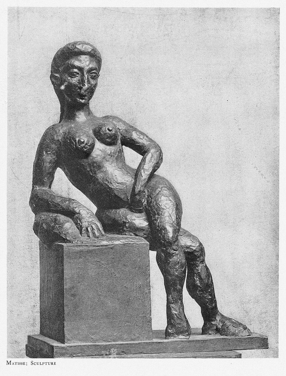 Henri Matisse, 1908, Figure décorative, bronze