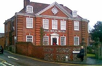 John Fenn (antiquarian) - Fenn's home in Dereham, Norfolk, now a hotel.