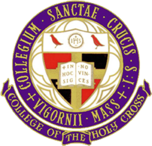 Holy Cross Goodtime Marching Band - Image: Holy Cross Seal Color