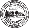 Official seal of Hopkinton, Massachusetts