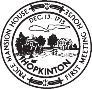 Hopkinton, Massachusetts - Image: Hopkinton MA seal