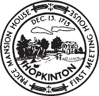 Official seal of Hopkinton, Massachusetts