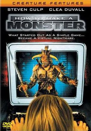 How to Make a Monster (2001 film) - DVD cover for How to Make a Monster
