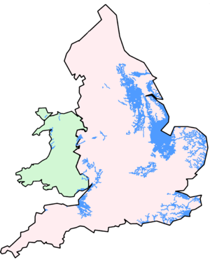 Internal drainage board - Image: ID Bs of England and Wales