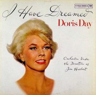 I Have Dreamed (Doris Day album) - Image: I Have Dreamed (Doris Day album) cover