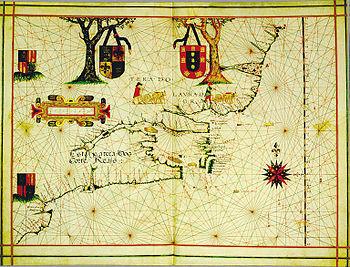 Portuguese Colonization Of The Americas Wikipedia - Portugal map wikipedia