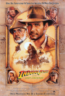 1989 action-adventure film directed by Steven Spielberg
