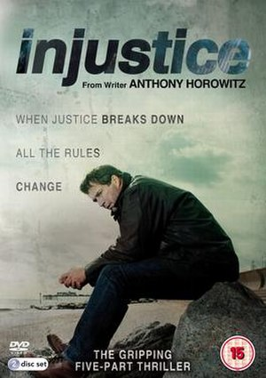 Injustice (TV series) - DVD cover