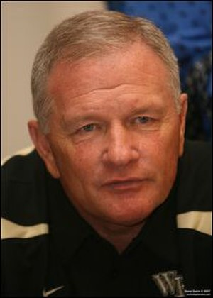 Wake Forest Demon Deacons football - Coach Grobe