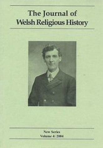 The Journal of Welsh Religious History - Image: Journal of Welsh Religious History