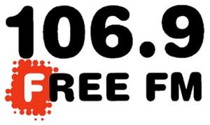 KFRC-FM - Logo for 106.9 Free FM