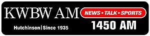 KWBW - Image: KWBW 1450AM logo