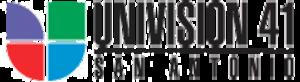 KWEX-DT - Former logo, used until December 31, 2012.