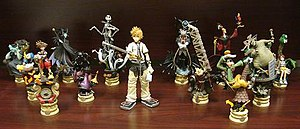 Characters of Kingdom Hearts - Image: Kingdom Hearts Figures