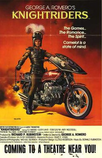 Knightriders - Original theatrical poster