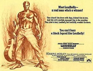 Leadbelly (film) - Wide movie poster for Leadbelly