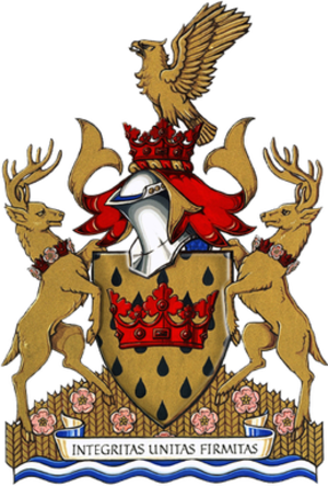 Leduc, Alberta - Image: Leduc Coat of Arms