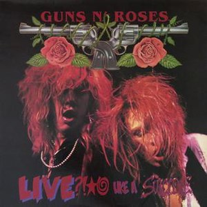 Live ?!*@ Like a Suicide - Image: Live Like a Suicide (Guns N' Roses) EP cover