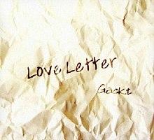 love letter gackt album coverartjpg