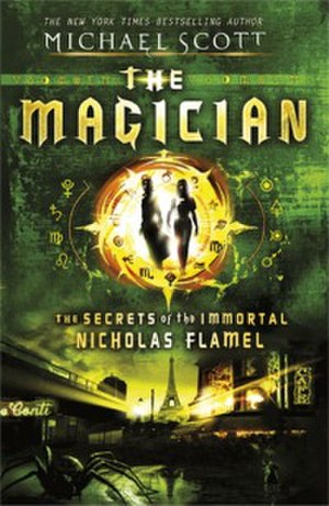 The Magician: The Secrets of the Immortal Nicholas Flamel - The alternative cover, for the UK edition.