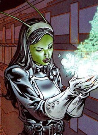 Mantis (Marvel Comics) - Image: Mantismadona