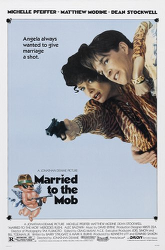 Married to the Mob - Theatrical release poster