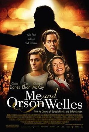 Me and Orson Welles - Theatrical release poster