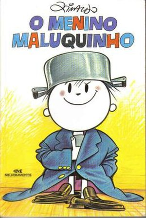 O Menino Maluquinho - First cover of the book released in 1980 by Ziraldo