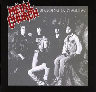 Blessing in Disguise (Metal Church album) - Image: Metal church blessing in disguise