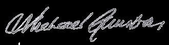 Michael Gambon - Image: Michael Gambon Autograph