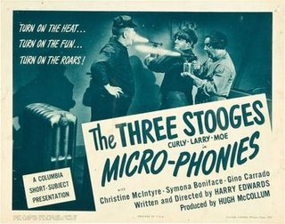 <i>Micro-Phonies</i> 1945 film by Edward Bernds