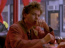 River Phoenix as Mikey Waters in Gus Van Sant's 1991 film My Own Private Idaho.