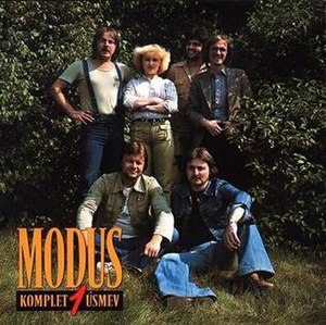 Úsmev (album) - Image: Modus Usmev Front