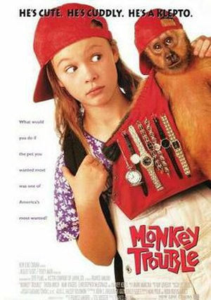 Monkey Trouble - Theatrical release poster