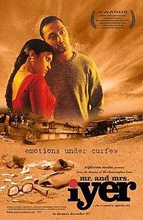 <i>Mr. and Mrs. Iyer</i> 2002 film by Aparna Sen