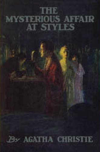 The Mysterious Affair at Styles - Dustjacket illustration of the first edition in both the UK and the US