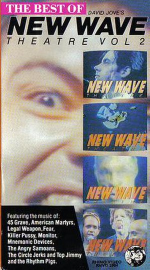 New Wave Theatre - Cover of The Best of David Jove's New Wave Theatre, Volume 2