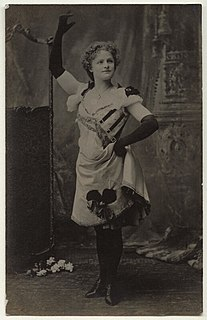 Nellie Navette British music hall serio-comic performer of the late Victorian era