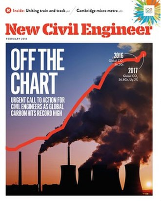 New Civil Engineer - Cover from February 2018