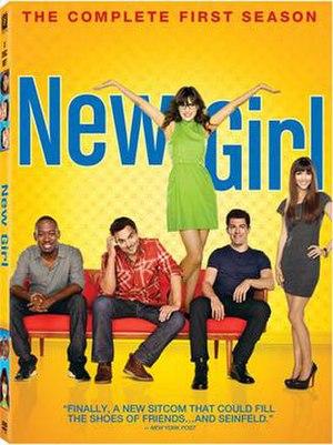 New Girl (season 1) - DVD cover