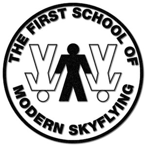 The First School of Modern SkyFlying - The First School of Modern SkyFlying Official Logo